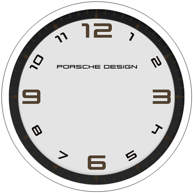 It's just a photo of Playful Clock Face Designs