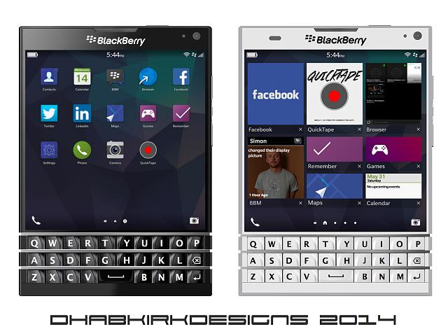 First Look: Here's the BlackBerry Passport in white ...