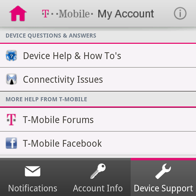 T-Mobile: Data Volume Usage / Counter in different Countries