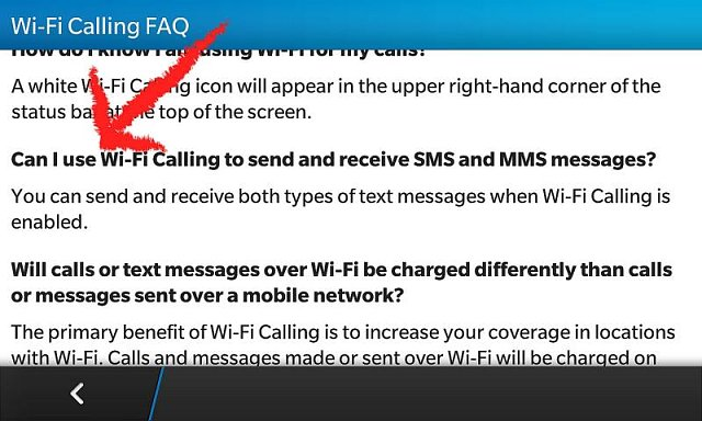 WiFi Calling MMS issues - BlackBerry Forums at CrackBerry com