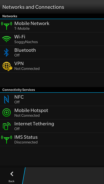 How to tell if on VoLTE - BlackBerry Forums at CrackBerry com